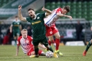 FC Homburg vs Kickers Offenbach - Charles Elie Laprevotte foult Damjan Marceta